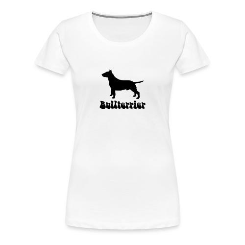 Bullterrier Logo - Frauen Premium T-Shirt