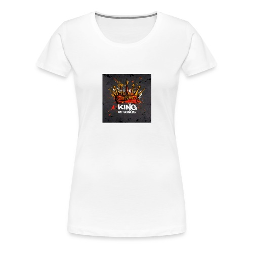 King of kings - Frauen Premium T-Shirt