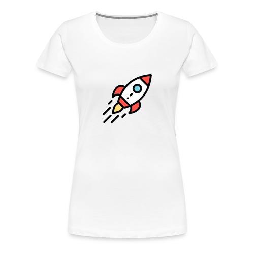 T-Shirt selber gestalten Ideen Rakete - Frauen Premium T-Shirt