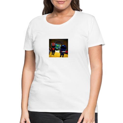gg - Premium-T-shirt dam