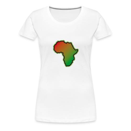 Afrika Big Five Africa Schwarzer Kontinent Safari - Women's Premium T-Shirt