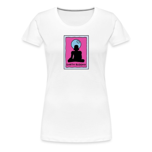 DARTH BUDDHA - Women's Premium T-Shirt