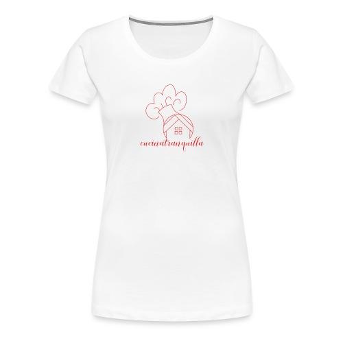 cucinatranquilla - Maglietta Premium da donna
