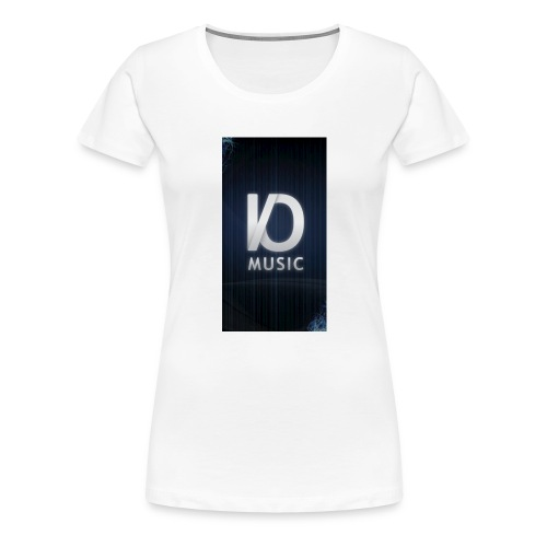 iphone6plus iomusic jpg - Women's Premium T-Shirt