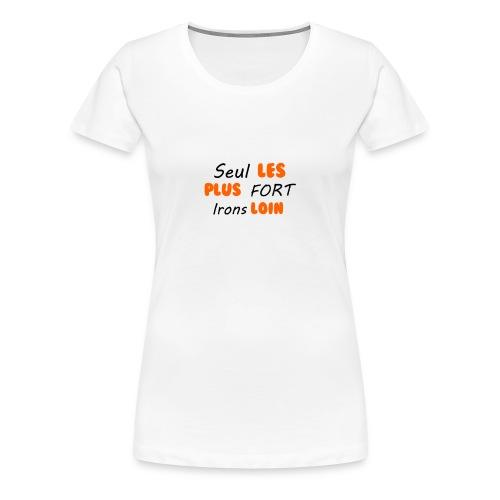 SegnoBoutiqueFr - T-shirt Premium Femme