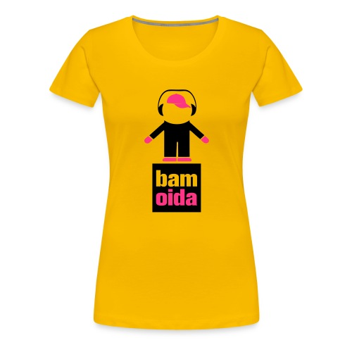 bam odia dancer - Frauen Premium T-Shirt