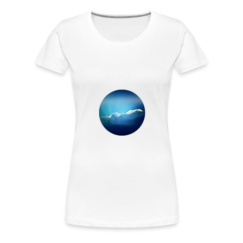 The sky is the limit - Frauen Premium T-Shirt
