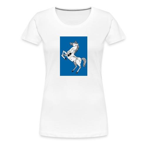 Danse équestre - T-shirt Premium Femme