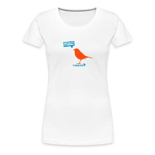 Was sich liebt, das Piept! - Frauen Premium T-Shirt