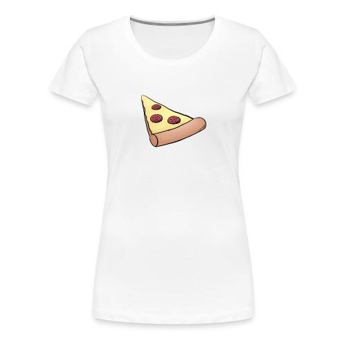 Pizzastück für Eltern-Baby-Partnerlook - Frauen Premium T-Shirt