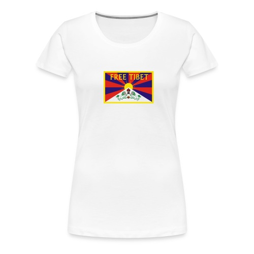 freetibet1 - Frauen Premium T-Shirt