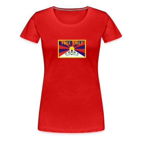freetibet1 - Frauen Premium T-Shirt