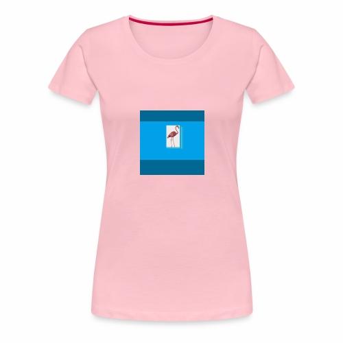 Flamingoscotteri - Maglietta Premium da donna