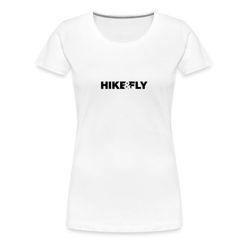 Hike & Fly Paragliding - Frauen Premium T-Shirt