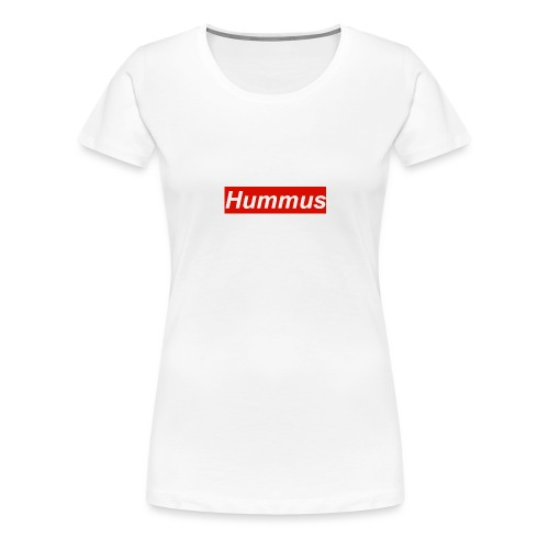 Hummus hoodie - Women's Premium T-Shirt