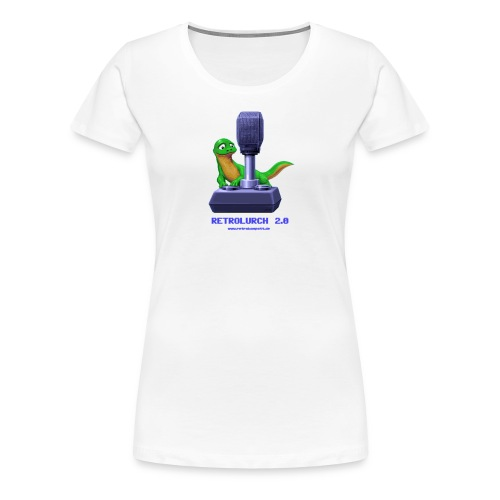 RetroLurch 20 - Frauen Premium T-Shirt