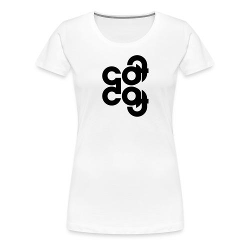 Cat Dog Logo Motiv - Frauen Premium T-Shirt