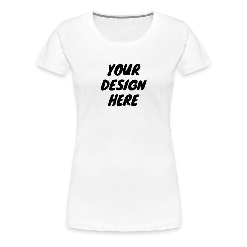 printfile front 9 - Premium-T-shirt dam