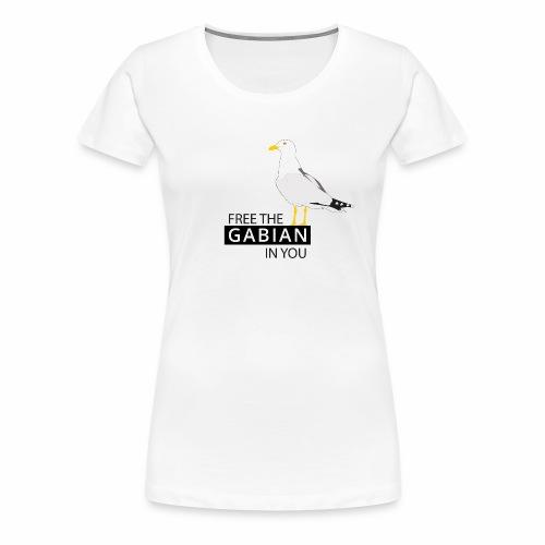 Libérez le Gabian en vous - T-shirt Premium Femme
