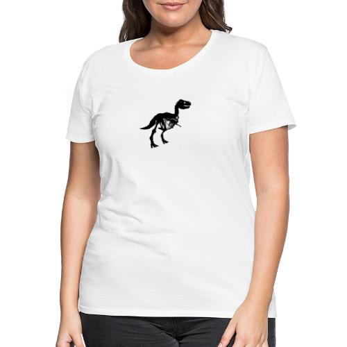 tyrannosaurus rex - Frauen Premium T-Shirt