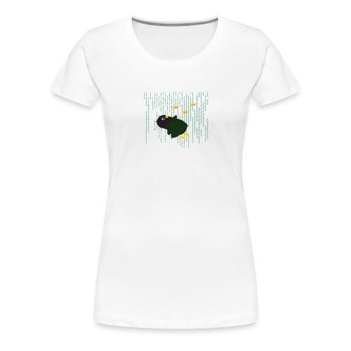 Pingouin Bullet Time - T-shirt Premium Femme