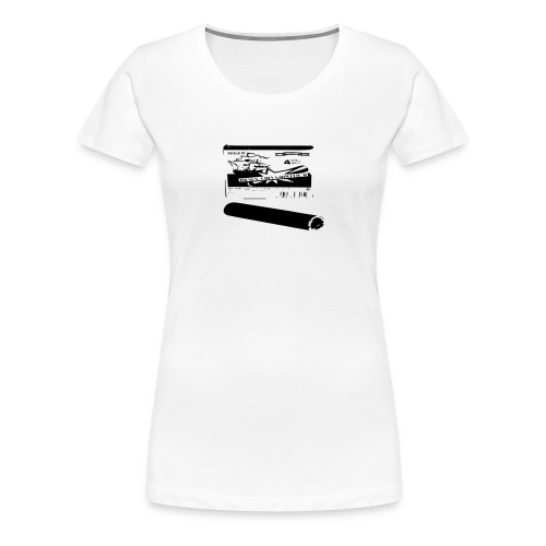 Böller - Frauen Premium T-Shirt
