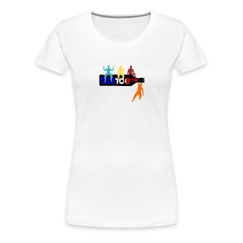 France Shirt Jungs Flasche vector bunt neu - Frauen Premium T-Shirt