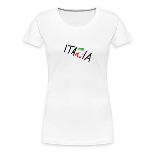 Italia T-Shirt Herren: Schriftzug - Frauen Premium T-Shirt