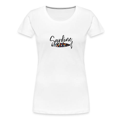 Sardine colorate all'amo - Maglietta Premium da donna