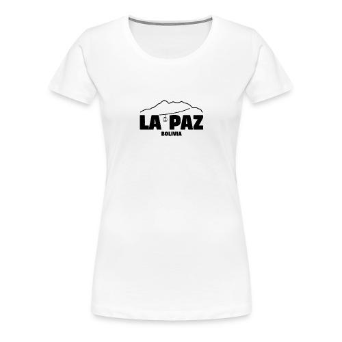 La Paz Bolivia - Camiseta premium mujer