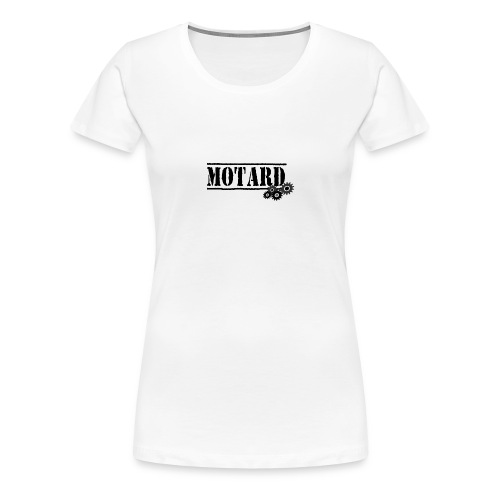 Motard Logo - Maglietta Premium da donna