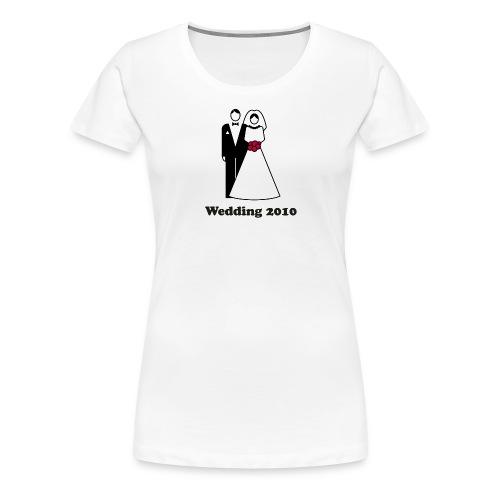 Wedding 2010 - Frauen Premium T-Shirt