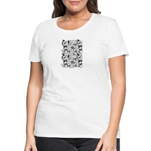 Monsters panic for star - Women's Premium T-Shirt