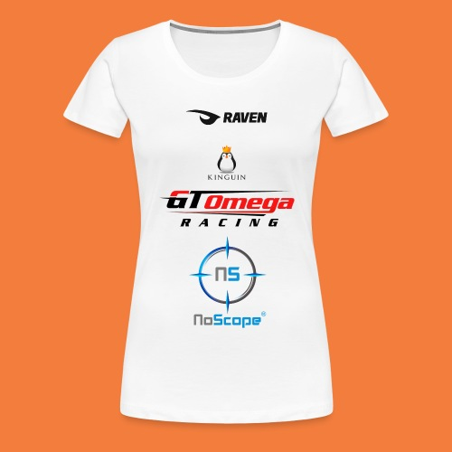 NoScope Logo Vertical png - Women's Premium T-Shirt