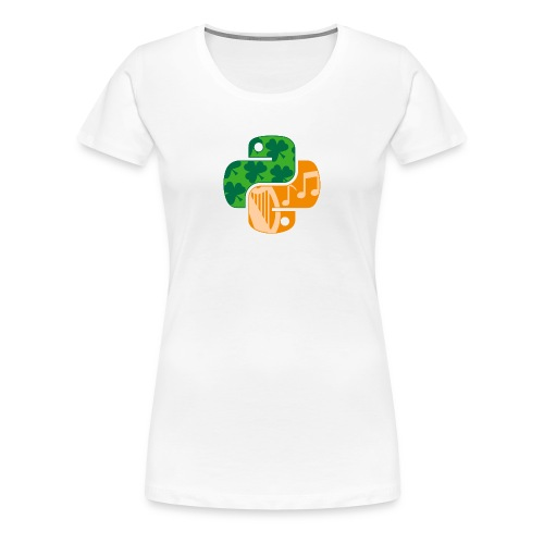 EuroPython 2020 - Color Snakes - Women's Premium T-Shirt