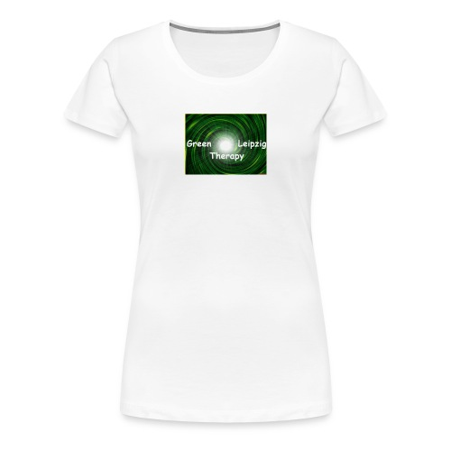 green Leipzig therapy - Frauen Premium T-Shirt