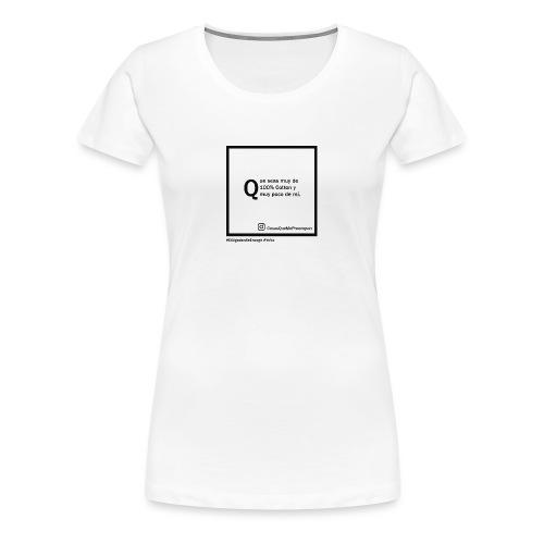 100 cotton - Camiseta premium mujer