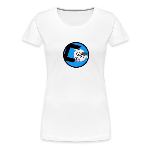 CoveredCow Logo 3 - Women's Premium T-Shirt