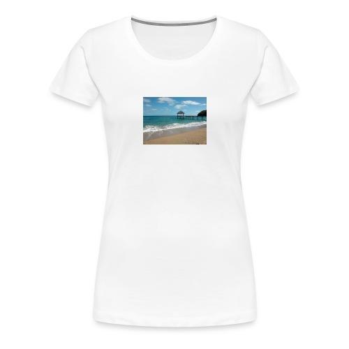 Plage N'Gouja - T-shirt Premium Femme