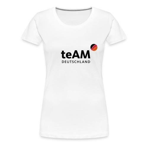 das sportliche teAM Logo - Frauen Premium T-Shirt