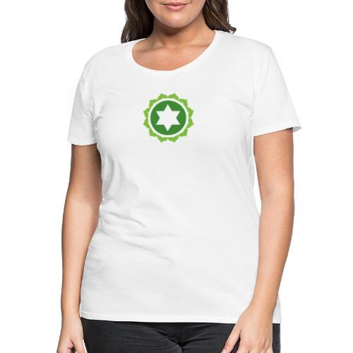 The Heart Chakra, Energy Center Of The Body - Women's Premium T-Shirt
