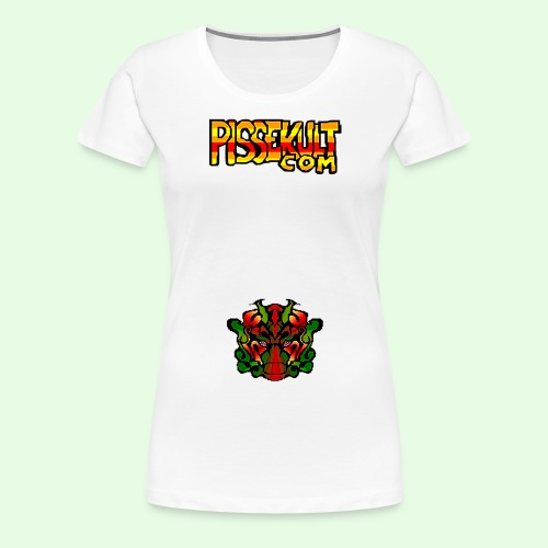 pisselogo - Premium T-skjorte for kvinner