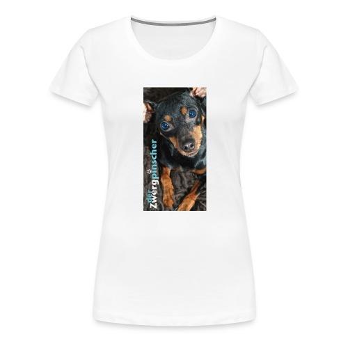 derzwergpinscher chocolate jpg - Frauen Premium T-Shirt