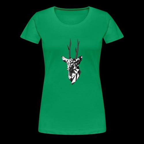Polygoon Hert - Vrouwen Premium T-shirt