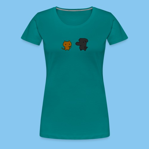 Doc and Gat png - Women's Premium T-Shirt