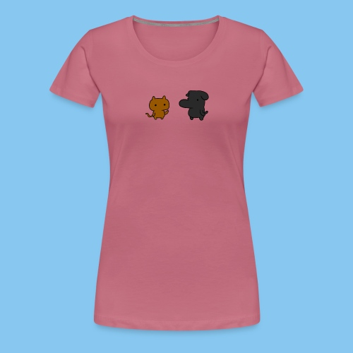 Doc and Gat png - Women's Premium T-Shirt