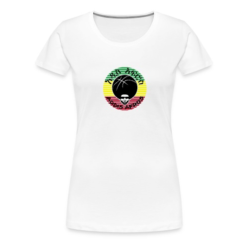 addis afros stripes rast - Frauen Premium T-Shirt