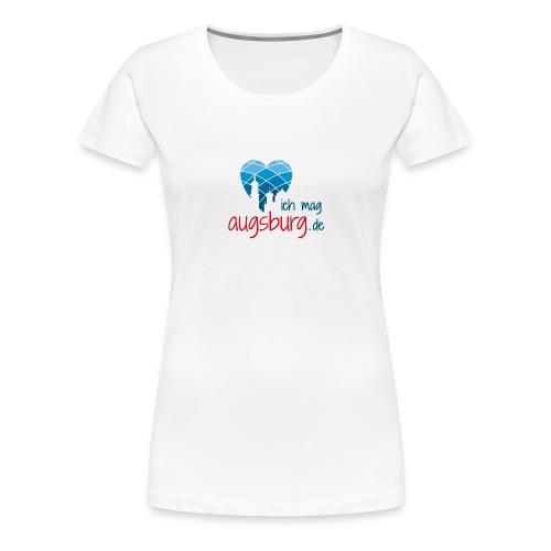 ichmagaugsburg logo - Frauen Premium T-Shirt