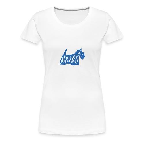 Founded in Scotland logo - Women's Premium T-Shirt