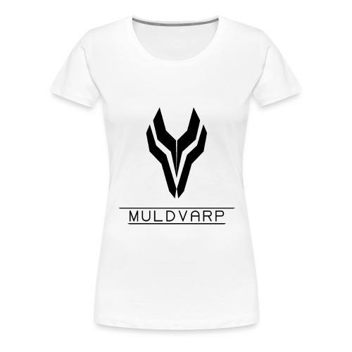 Muldvarp png - Dame premium T-shirt